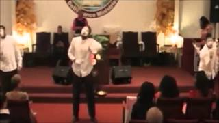 James Fortune We Give You Glory & Let Your Power Fall Mime by PWDM HolyFire Mime Ministers