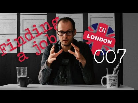 Finding a job in London