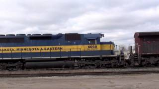 Railfanning The Canadian Pacific Galt Subdivision. [CP 255-02 with P&W!] 2/4/12