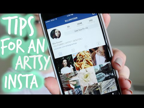How To Have An Artsy Instagram Feed♡ - YouTube