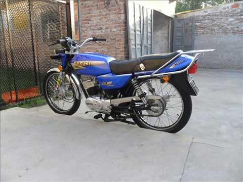 Suzuki ax 100 - YouTube