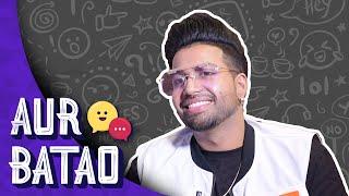 Sukh-E talks about new song, defends auto-tune in music || AUR BATAO