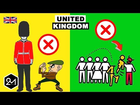 Top 10 Things You Should Never Do In UK