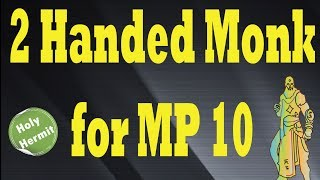 diablo 3 new monk two handed build for mp 10 rising bells pre loot 2 0