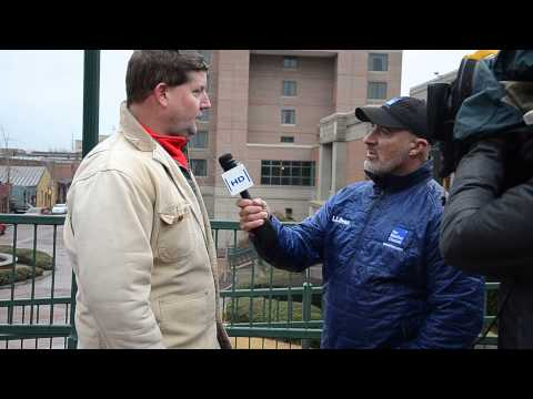 The Weather Channel's Jim Cantore In Augusta