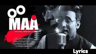 Maa (Laadla) || Reprise Version ||Teri Ungli pakad ke chala|| Ricky Abhishek Chowdhary | Lyrics