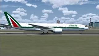 Alitalia Flight 783 - Tokyo to Rome (FS2004)