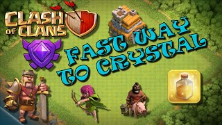 Clash of Clans - HOW TO GET TO CRYSTAL LEAGUE ON TH7 - Best Attack Strategy For Fast Trophies