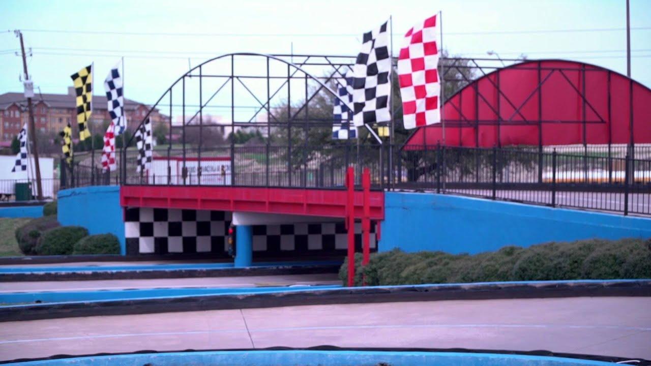 Go Kart Dallas >> Adventure Landing Amusement Park in Dallas - YouTube