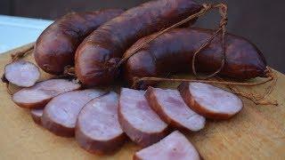 Краковская колбаса из покупных колбасок для гриля