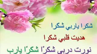 انشيد الإسلامي .. شكرا ياربي شكرا
