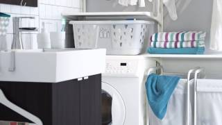 Ikea LillÅngen Bathroom Furniture - Ikea Home Tour