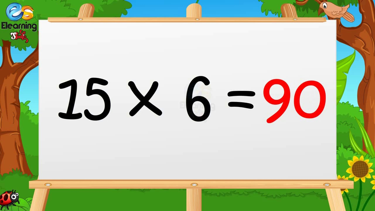 Learn Multiplication Table of Fifteen 15 x 1 = 15 - 15 Times Tables