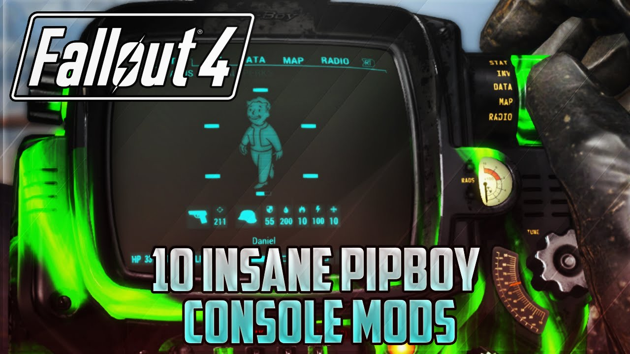 Fallout 4 console mods 10 insane pipboy mods pc xbox one ps4 youtube - What consoles will fallout 4 be on ...