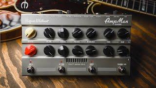 Un ampli 2 canaux format PEDALBOARD l Hughes & Kettner AmpMan Classic