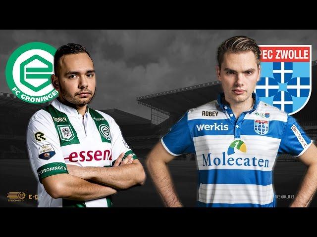 FC Groningen - PEC Zwolle | Speelronde 31 | E-Divisie