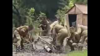 Редкие кадры войны в Чечне