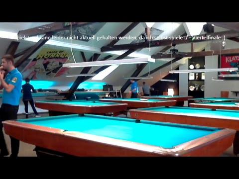 1. Championstour Billard 8 Ball - Innsbruck - Wäscherei - 720p Quality - nosound -- bad mic