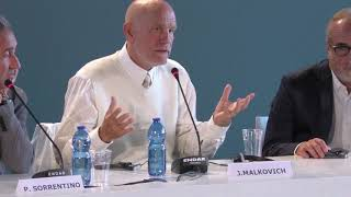 John Malkovich on directing a TV series / The New Pope Venice Film Festival