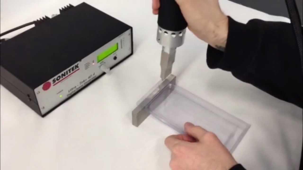 What is Ultrasonic Welding Process ??   Engineer's Academy  
