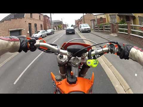 KTM 125 Exc SM  / GoPro Hero 2 HD