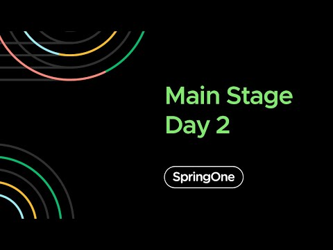 SpringOne 2020 - Day 2 Closing Full Keynote