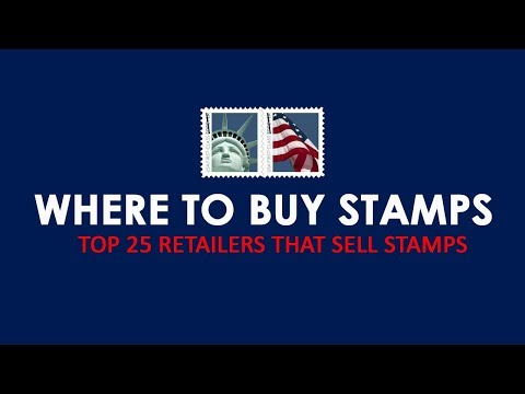 Where to Buy Stamps Near Me - Top 25 Locations to Buy Postage