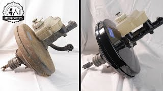 BMW E30 Brake Booster & Master cylinder Restoration | BMW E30 325i Sport Project S1 E3