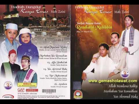 Full Album SHOLAWAT KARYA EMAS | Jam'iyah Sholawat Hadrah ROUDLATUL MUHIBBIN