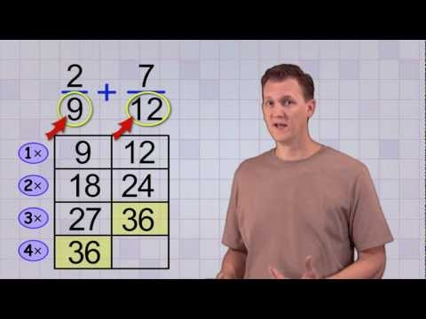 Math Antics - Common Denominator LCD