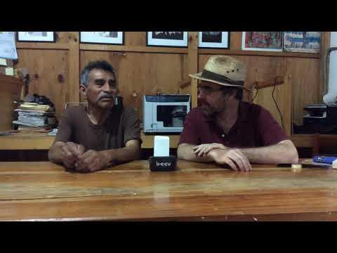 El poeta locutor: Entrevista con Don Luis Santiago