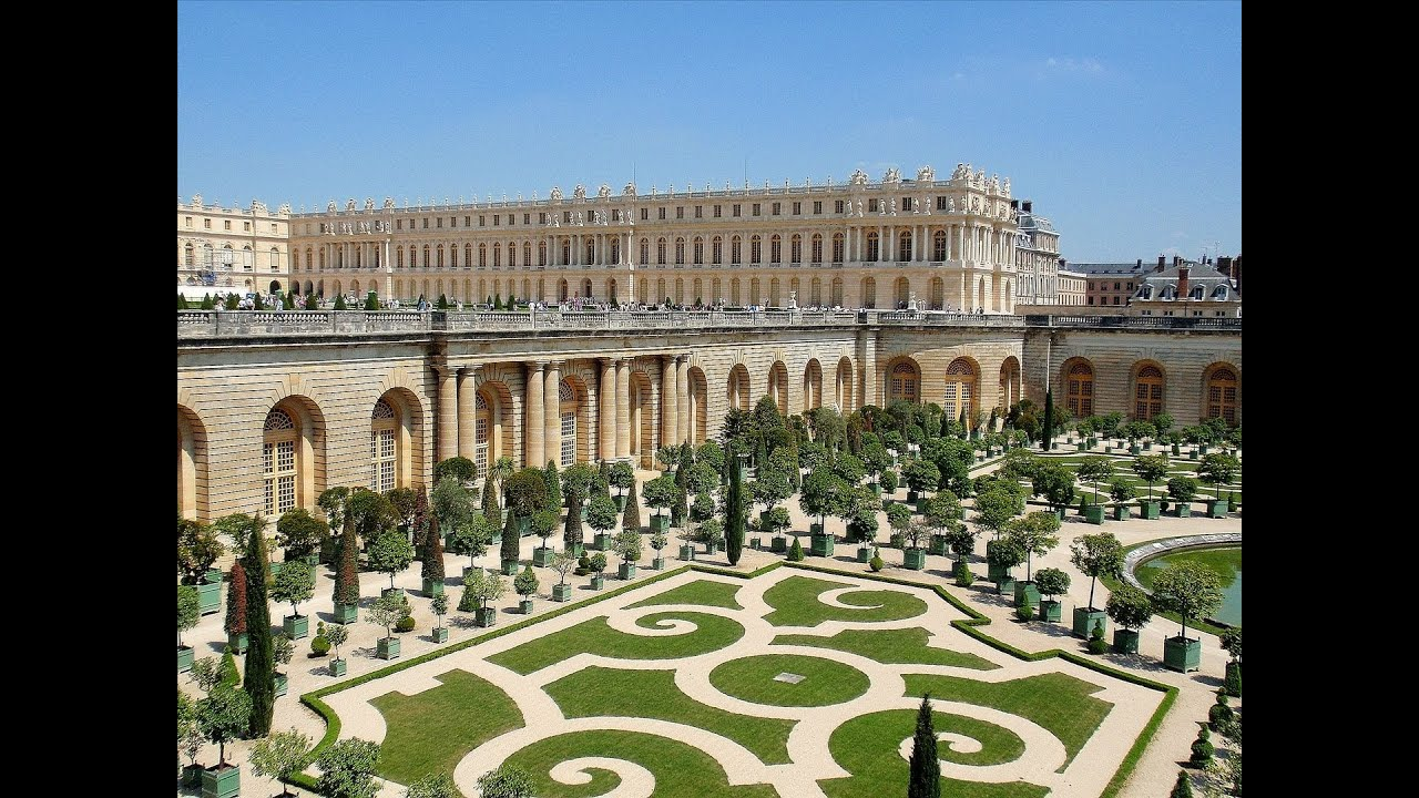 Versailles Gardens. Paris France