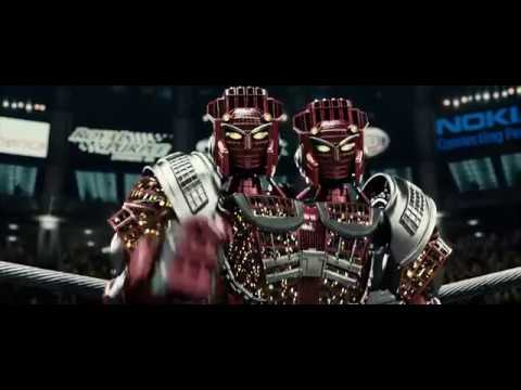 Real Steel  Atom Vs Twin Cities Tamil Dubbed Best Action Scene