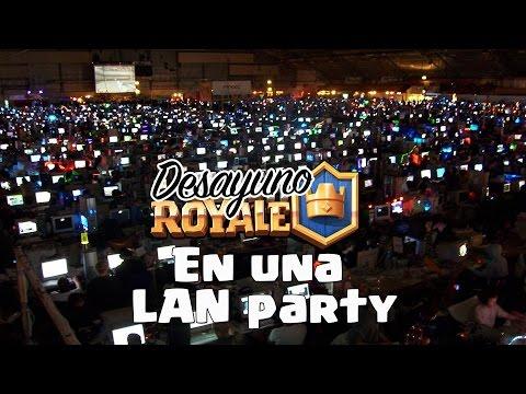 ¿Cómo es una LAN Party? | Desayuno Royale | Clash Royale con TheAlvaro845 | Español