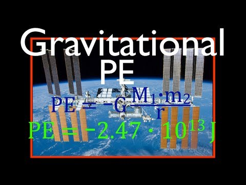 Gravitation (11 of 17) Gravitational PE of a Object Orbiting the Earth