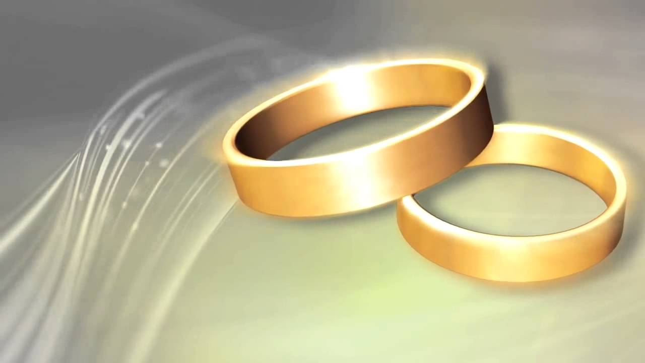 Wedding Rings Premium HD Video Background HD0554 Animation Backgrounds Motion F