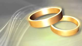 Wedding Rings Premium HD Video Background HD0554 , Animation Video Backgrounds Motion, Backgrounds F