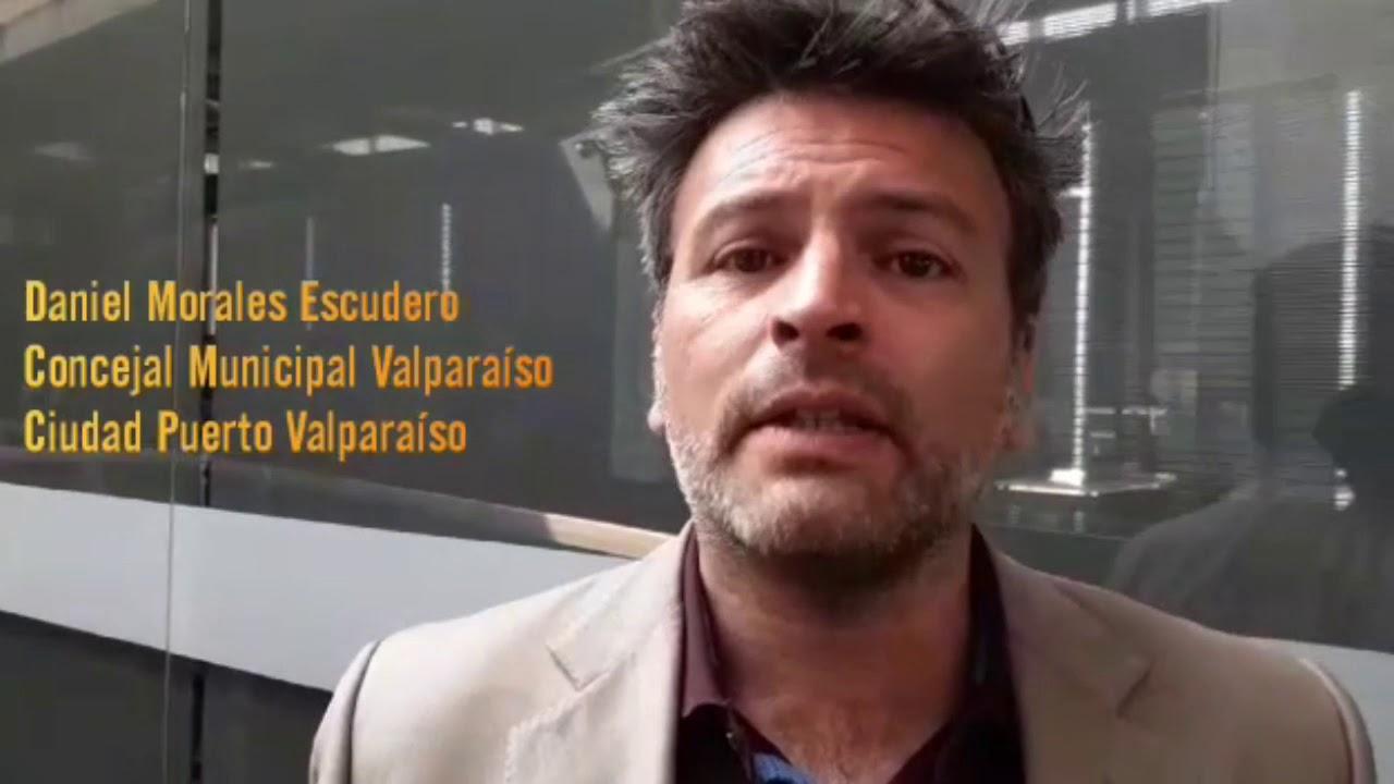 #GentePuerto🚢: Daniel Morales Escudero, Concejal Municipal Valparaíso.