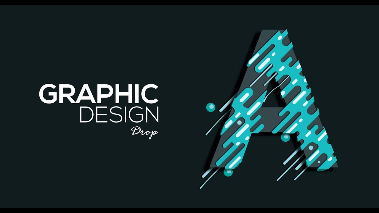 Graphic Design Adobe Illustrator Photoshop Drop Youtube