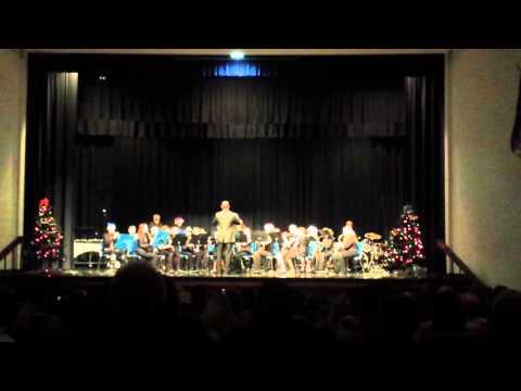 Eastern Hancock Middle School Band Holiday Program(2)