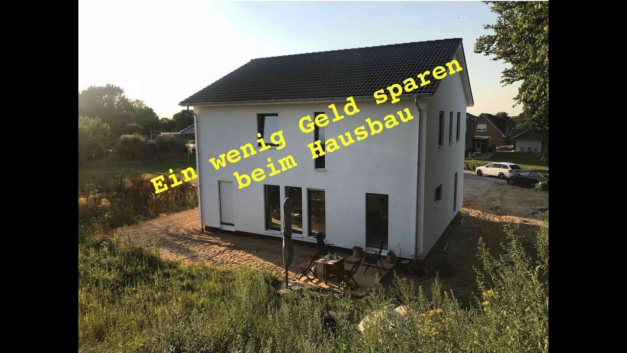 Projekt Hausbau - Geld sparen beim Eigenheim