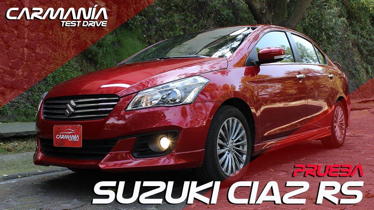 Suzuki Ciaz Rs A Prueba Carmania