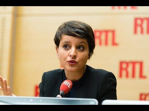 Najat Vallaud-Belkacem, invitée de RTL le 18 octobre 2016 - RTL - RTL