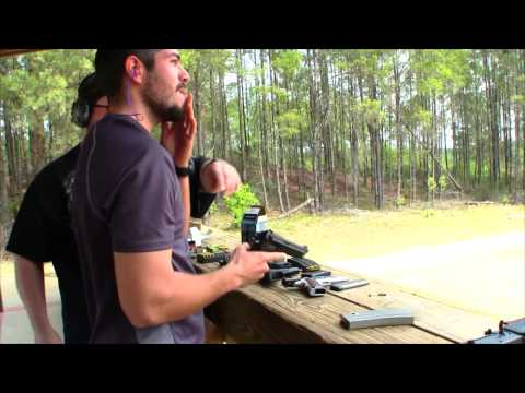 OUTDOOR GUN RANGE - Florida Vacation - FoolyLiving Vlog