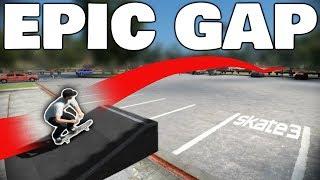 Skate 3   EP C GAP CHALLENGE  Gap Over The Parking Lot