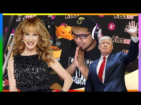 Kathy Griffin Warns Singapore About Donald Trump | Radio Interview