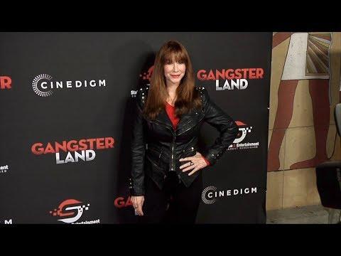 """Caroline Williams """"Gangster Land"""" Premiere Red Carpet"""