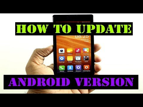 How To Update Mobile Android Version