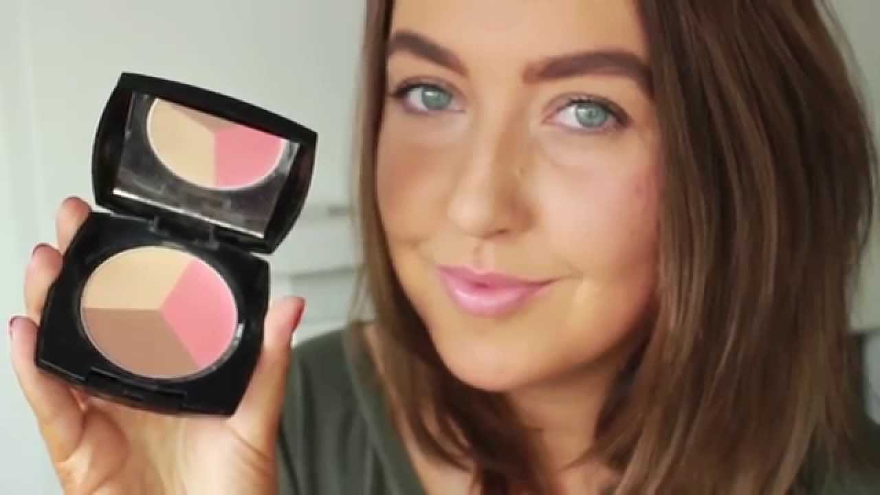 How to use Avon Blush and Bronze Trio - YouTube
