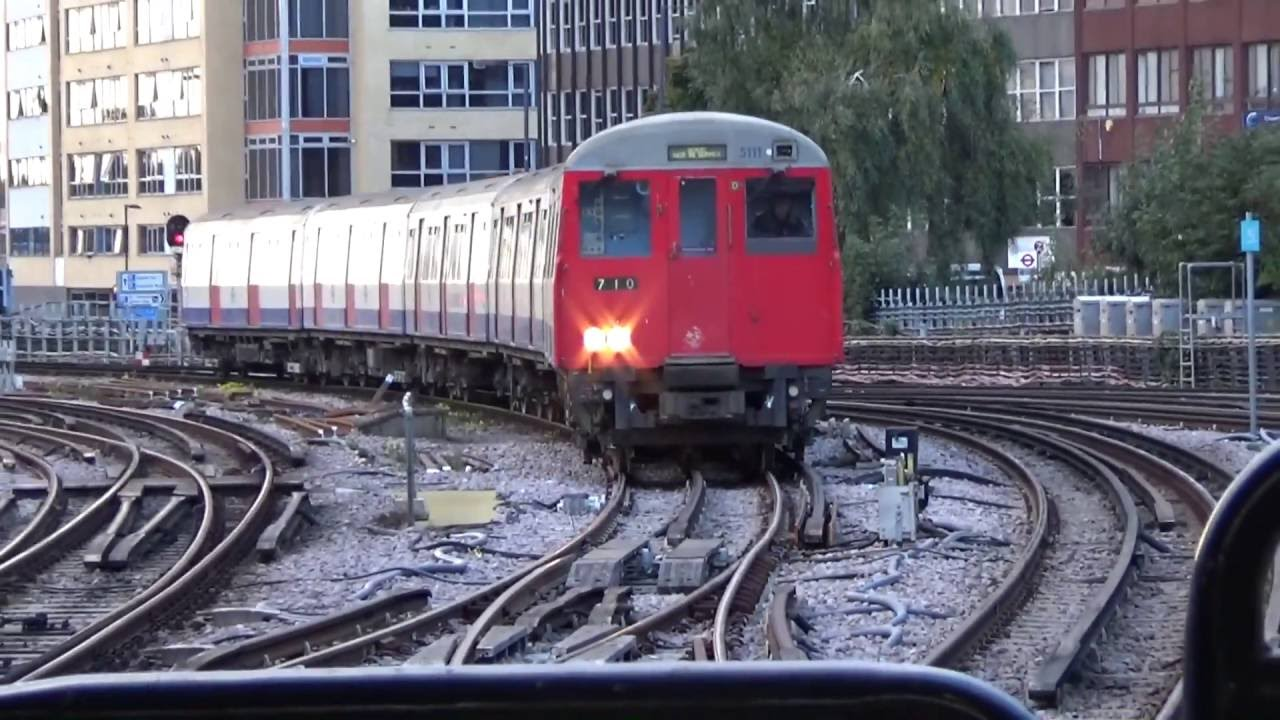 London Underground A Stock Rail Adhesion Train